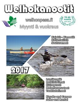 Welhonpesä welho kanootit 2017 kuvasto